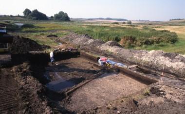 3. Ejsbøl mose  under udgravning i 1999.