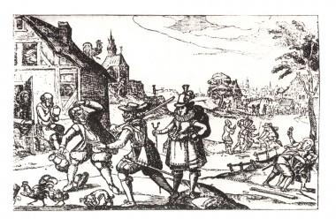 Stik fra 1600-tallet.