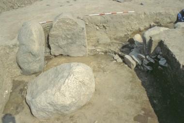 I nyere tid er en af stenene gravet ned, fordi den forstyrrede pløjningen.