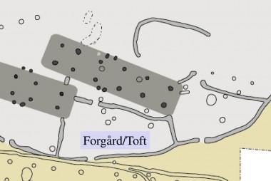 De små forgårde er tolket som udtryk for toftens oprindelse i Nordslesvig.