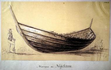 Tegnet i 1869 af Magnus Petersen.