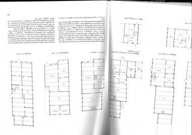 Grundplan af Naffet 24. A = Alkove. Fra Huse i Haderslev, bd.1. 1982. s.68.