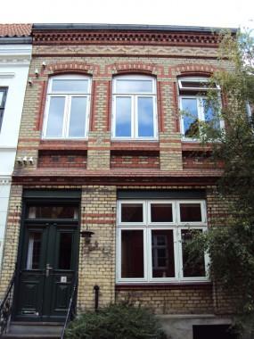 St. Klingbjerg 7 og 4 – to huse med 200 års aldersforskel.
