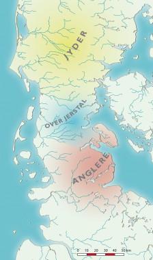 Over Jerstal-kredsens udbredelse omkring Kr. f.