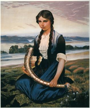 Maleri af Harald Slott-Møller fra 1906