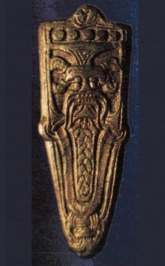 Fra et af grubehusene. Dateret til midten af 800-tallet. Foto: Arkæologi Haderslev