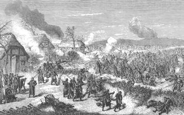 [:da]Træsnit efter tegning af Fr. Kaiser, 30. marts 1864.[:]