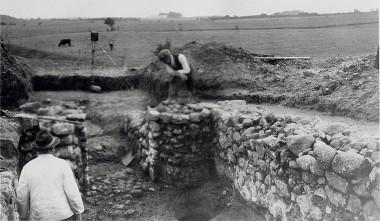 2. Udgravningen.