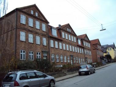 Lejlighedsbyggeri på Lindedal fra 1922.