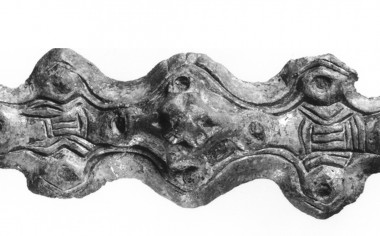 Fibula fra vikingetiden fundet ved Emmerske.